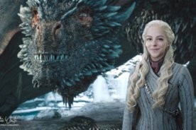 GOT Composite Photography – Me as Daenerys with Drogon
