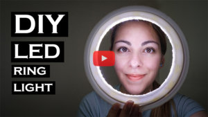 estee esther white photography diy led light