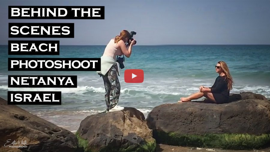 Behind The Scenes Beach Photoshoot – Jessie | Outdoor