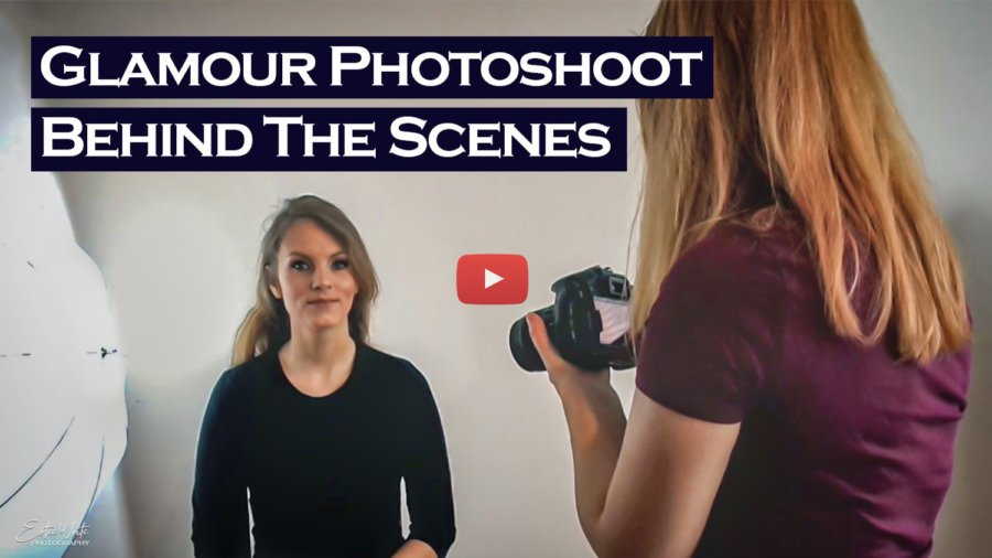 Behind The Scenes Glamour Photoshoot – Zuzanna & MUA | Studio