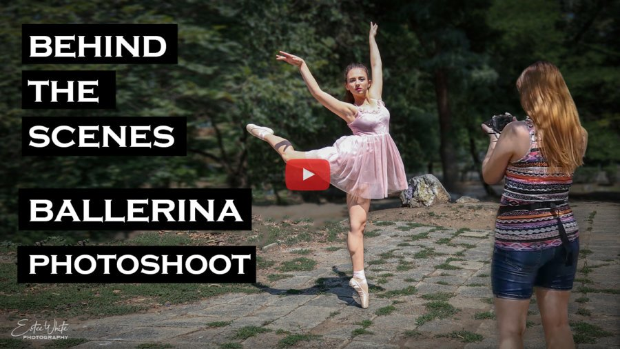 Behind The Scenes Photoshoot with Ballerina | Outdoor