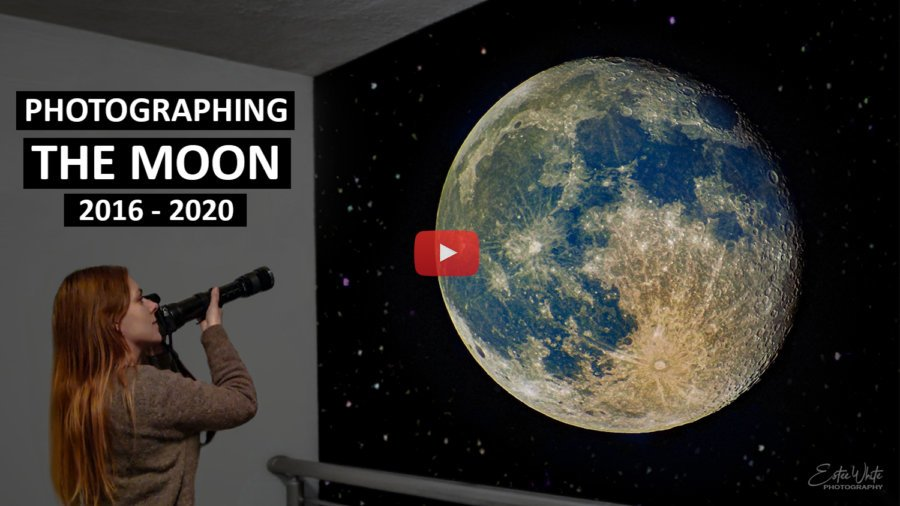 Photographing The Moon – Which Setup Gives Best Results? 2016 – 2020