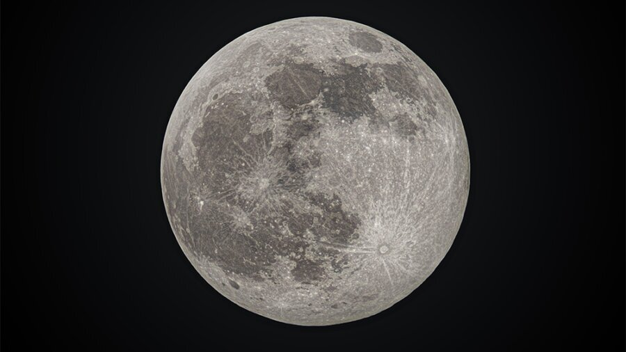 full cold wolf moon 29 December 2020 focus stack