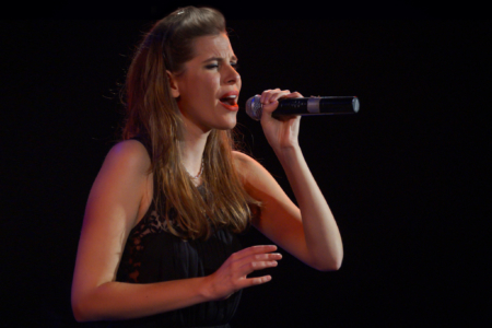 Tal Bergman stage performance woman singing