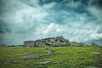 vitosha mountain top cliff