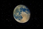 moon minerals lunar night sky photography