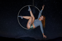 aerial hoop self portraits girl esther estee white